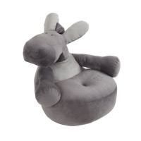 NOUKIES Fauteuil Bebe Paco gris fonce - 55x55 cm