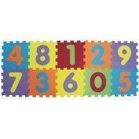 LUDI Dalles en Mousse Basic Chiffres - 143 x 48 x 0,9 cm