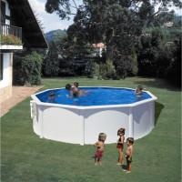 Piscine hors-sol GRE Dream Pool - Rond - O3,70 m x H1,22 m - En acier - Filtration a cartouche