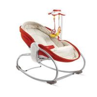 TINY LOVE Transat Rocker-Napper 3 en 1 - Rouge