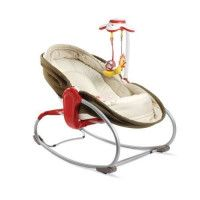 TINY LOVE Transat Rocker-Napper 3 en 1 - Marron