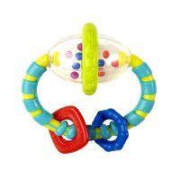 BRIGHT STARTS Hochet Grab + Spin Multicolore