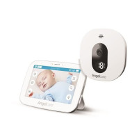 ANGELCARE Moniteur bebe AC510 sons et video - Transmission numerique securisee 2,4 GHz