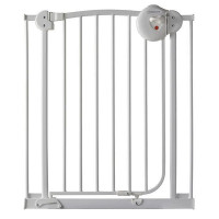 ANGEL CARE Barriere de porte enfant - Metal - Blanc laque