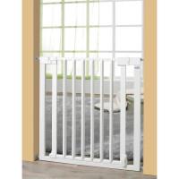 GEUTHER Barriere de securite enfant Vario Safe Sans Percer - 74,5-82,5 cm - Bois et metal - Blanc