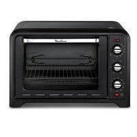 MOULINEX OX485810 - Mini four grill - 39L - 2000 W - Grill 1000 W - Chaleur tournante - Noir