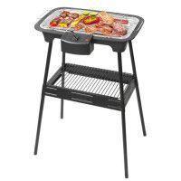 TRIOMPH ETF1526 Barbecue electrique sur pieds - Noir