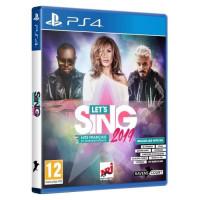 Lets Sing 2019 Hits francais et internationaux Jeu PS4