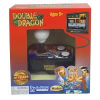 Console avec jeu video integre Double Dragon TV Arcade Plug + Play