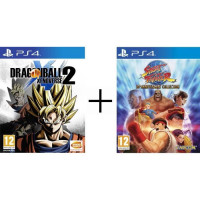Pack 2 jeux PS4 : Dragon Ball Xenoverse 2 + Street Fighter 30th Anniversary Collection