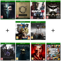 Pack 10 jeux Xbox One