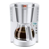 MELITTA 1011-07 Cafetiere filtre programmable Look IV Timer - Blanc