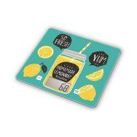 TERRAILLON Balance culinaire T1040 Detox Green - LCD - Tare - Plateau en verre - Slim - Vert