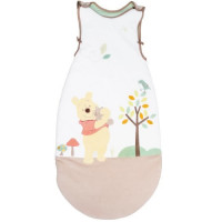 WINNIE WHIMSY Gigoteuse 2eme Age Velours Reglable 80-100 cm a Pressions 6/36 m+
