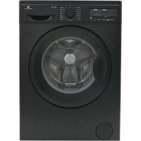 Lave-linge frontal 12 kg 1200 trs/min A+++ - Depart Differe - Affichage Digital - Moteur Induction - Noir Mat