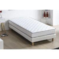 Matelas mousse 90 x 190 - Confort ferme - Epaisseur 16 cm - FINLANDEK Kiva