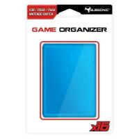 Boitier bleu range jeux et carte SD pour Switch
