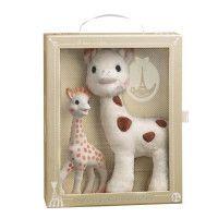 SOPHIE LA GIRAFE Coffret Sophie la girafe + Sophie Cherie