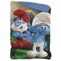 SCHTROUMPF Couette Imprimee 140x200 cm - Bleu