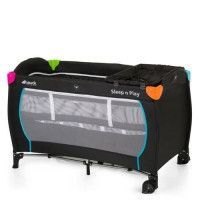 HAUCK Lit Parapluie Sleep N Play Center avec plan a langer - Black