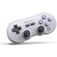 Manette Gamepad bluetooth grise 8Bitdo SN30 Pro pour Switch