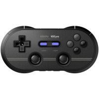 Manette Gamepad bluetooth noire 8Bitdo N30 Pro2 pour Switch