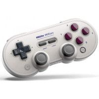 Manette Gamepad bluetooth creme 8Bitdo SN30 Pro G pour Switch