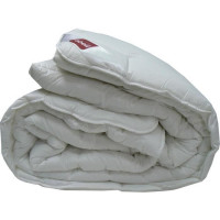 ABEIL Couette chaude Bio Confort Sensation 100% coton 220x240 cm blanc