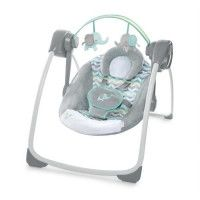 INGENUITY Balancelle Comfort 2 Go Portable Swing Jungle Journey
