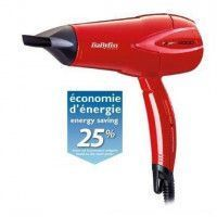 BABYLISS Seche-cheveux serie Expert plus D302RE - 2000W - Rouge