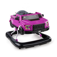 BRIGHT STARTS Trotteur 3 Ways to Play - Ford F-150 Raptor - Magenta electrique