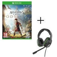 Assassins Creed Odyssey Jeu Xbox One + Casque Afterglow LVL3 pour Xbox One