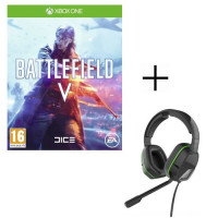Battlefield V Jeu Xbox One + Casque Afterglow LVL3 pour Xbox One
