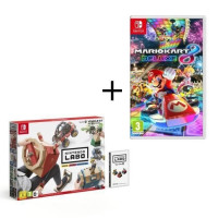 Pack 2 jeux Switch : Nintendo Labo Kit Vehicules + Mario Kart 8 Deluxe