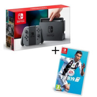 Pack Nintendo Switch Grise + Fifa 19
