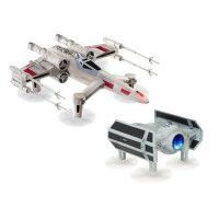 STAR WARS Drone T-65 X Wing Star Fighter + 1 Drone Tie Advanced X1 OFFERT