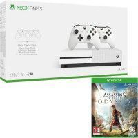 Xbox One S 1 To + 2 manettes + Assassins Creed Odyssey