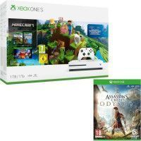 Xbox One S 1 To Minecraft + Assassins Creed Odyssey