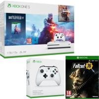 Xbox One S 1 To Battlefield V + Fallout 76 + manette