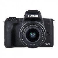 CANON EOS M50 15-45 STM Appareil photo Hybride Capteur APS-C 24 MP - Ecran tactile orientable - Noir