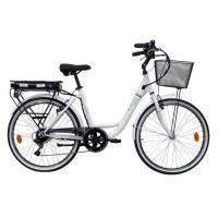 ORUS Velo electrique Ebike E4000RM 26 - 250W - 36V - Blanc