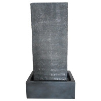 Fontaine City 45x28,5x84,5cm - Gris