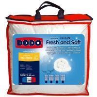 DODO Couette Fresh + Soft - 100% polyester traite - 200 x 200 cm - Blanc
