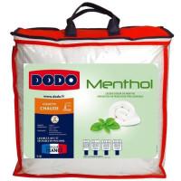 DODO Couette Menthol - 100% polyester traite - 220 x 240 cm - Blanc
