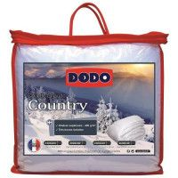 DODO Couette chaude 400gr/m2 COUNTRY 200x200 cm blanc