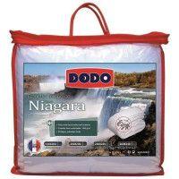 DODO Couette temperee 300g/m2 anti-acariens NIAGARA 220x240 cm blanc