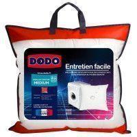 DODO Oreiller Entretien Facile microfibre - 100% polyester high technologie - 60 x 60 cm - Blanc