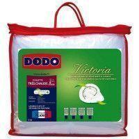 DODO Couette tres chaude 420 gr/m2 anti-acariens VICTORIA 240x260 cm blanc