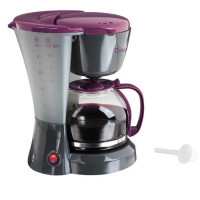 DOMOCLIP DOM163GVI Cafetiere filtre - Noir et Violet
