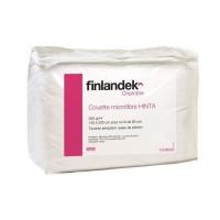 FINLANDEK Couette temperee microfibre HINTA 140x200 cm blanc